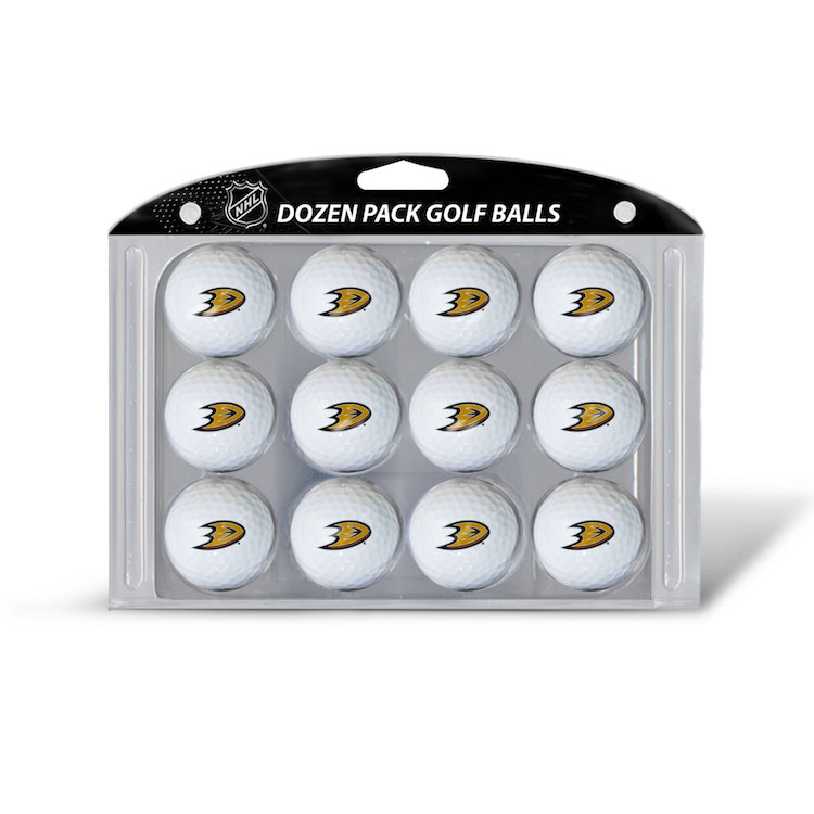 Anaheim Ducks Dozen Surlyn Golf Balls