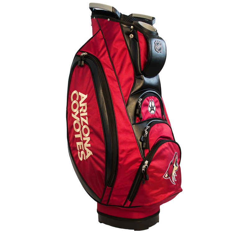 Arizona Coyotes Victory Cart Golf Bag