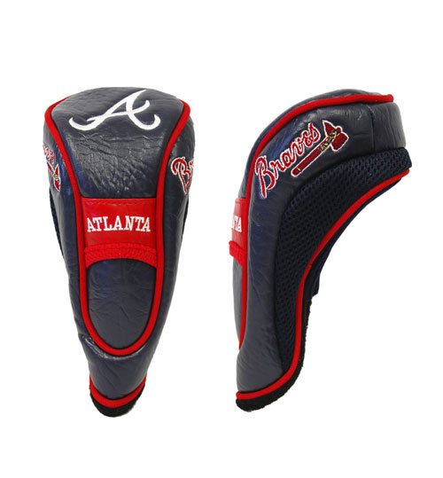 Atlanta Braves Golf Fairway Hybrid Head Cover