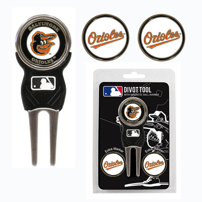 Baltimore Orioles Golf Divot Tool Pack