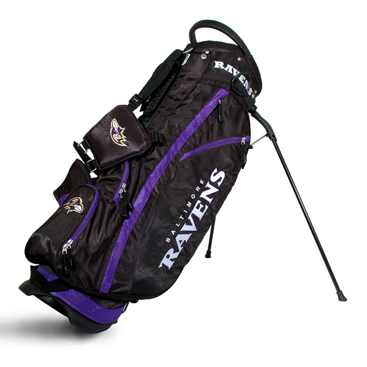 Baltimore Ravens Fairway Stand Golf Bag