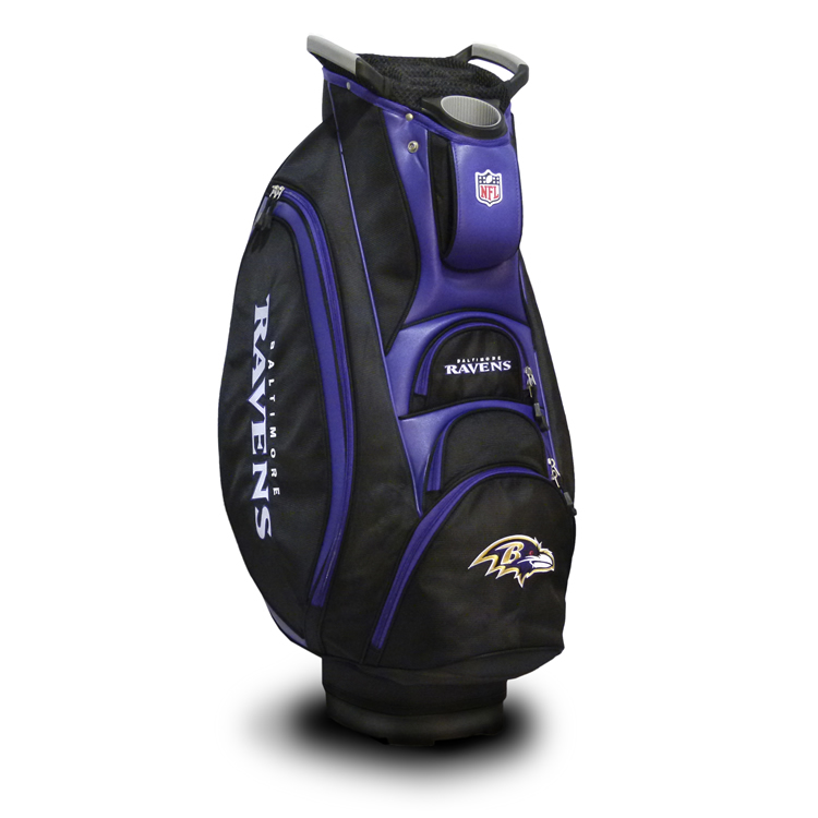 Baltimore Ravens Victory Cart Golf Bag