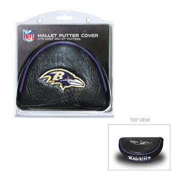 Baltimore Ravens Mallet Putter Cover