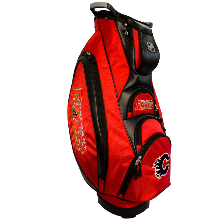 Calgary Flames Victory Cart Golf Bag