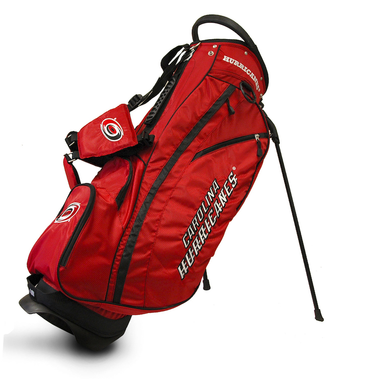 Carolina Hurricanes Fairway Stand Golf Bag