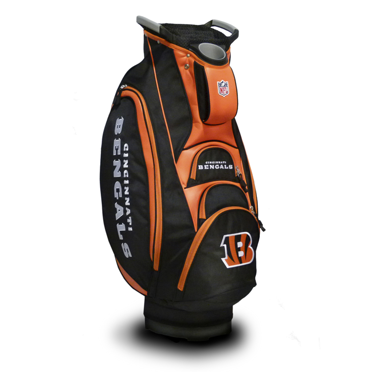 Cincinnati Bengals Victory Cart Golf Bag