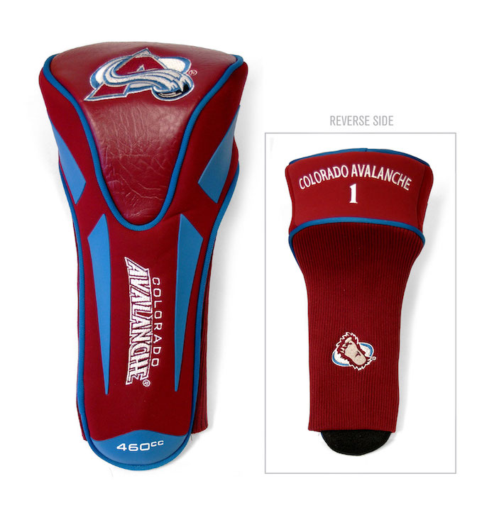 Colorado Avalanche Golf Apex Driver Headcover