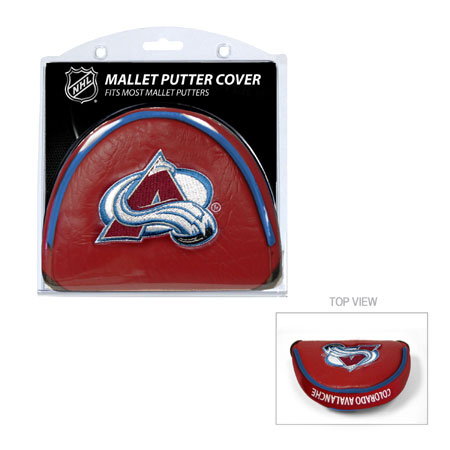 Colorado Avalanche Mallet Golf Putter Cover