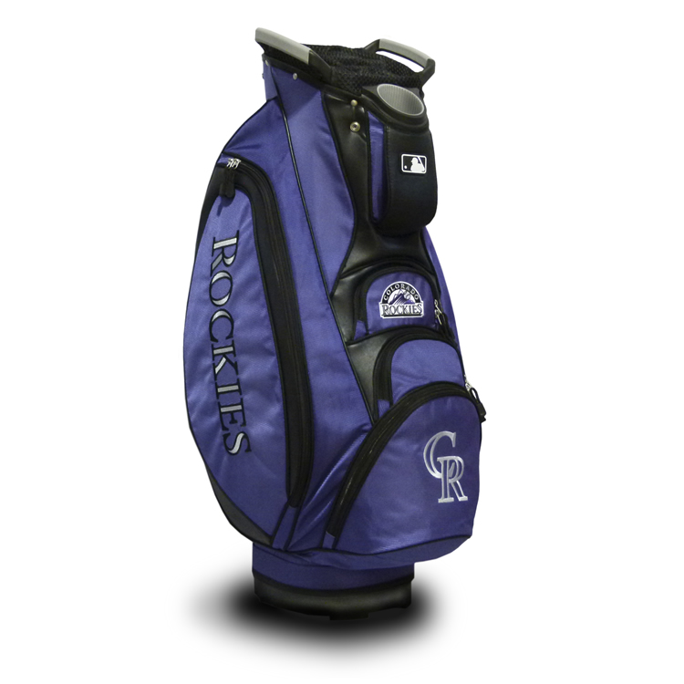 Colorado Rockies Victory Cart Golf Bag