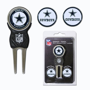 Dallas Cowboys Golf Divot Tool and Marker Gift Set