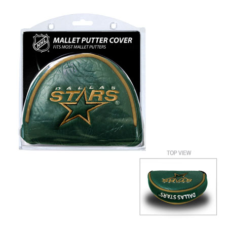 Dallas Stars Mallet Golf Putter Cover
