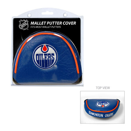 Edmonton Oilers Mallet Golf Putter Cover