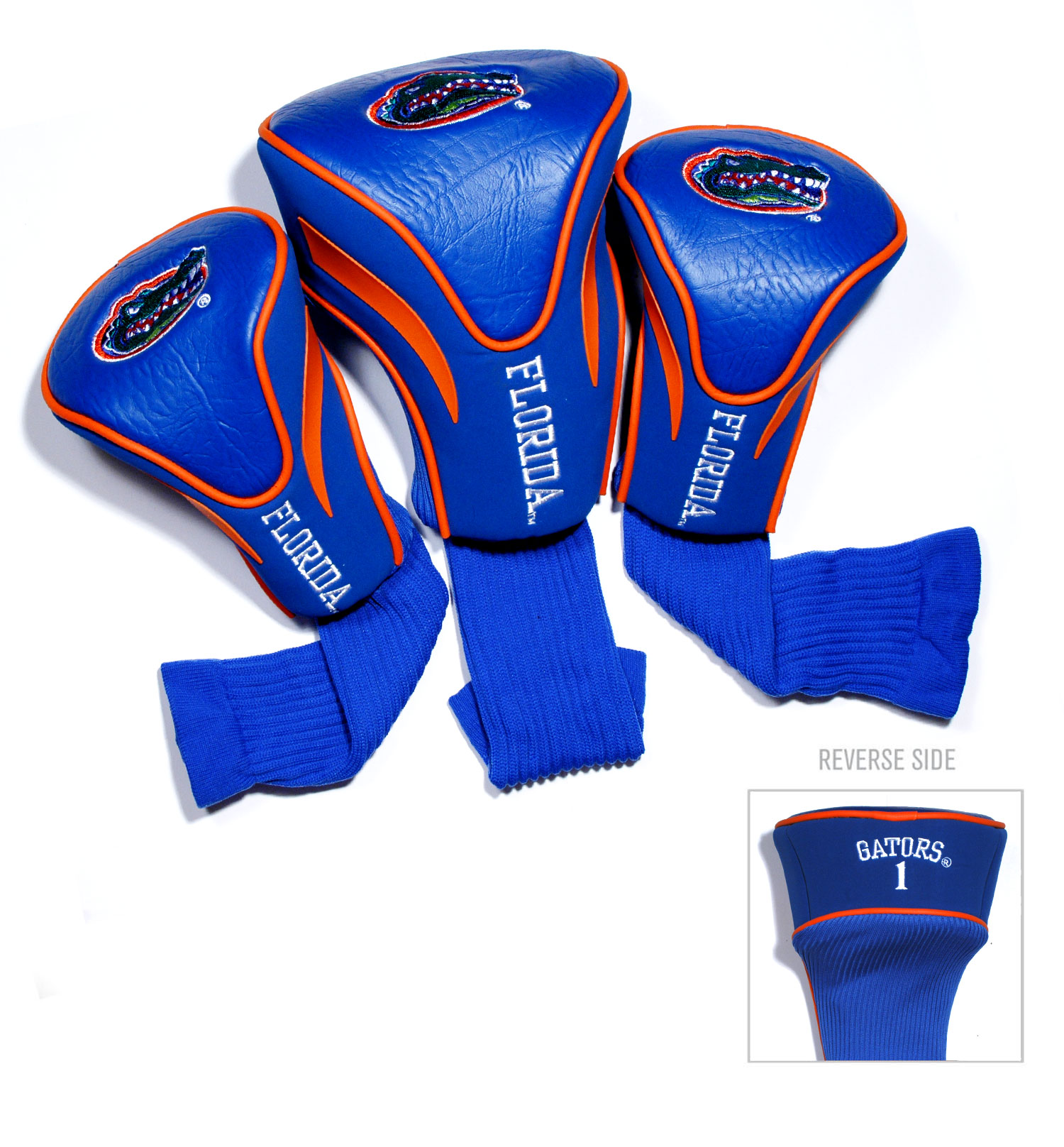 Florida Gators 3 Pk Golf Contour Sock Head Covers