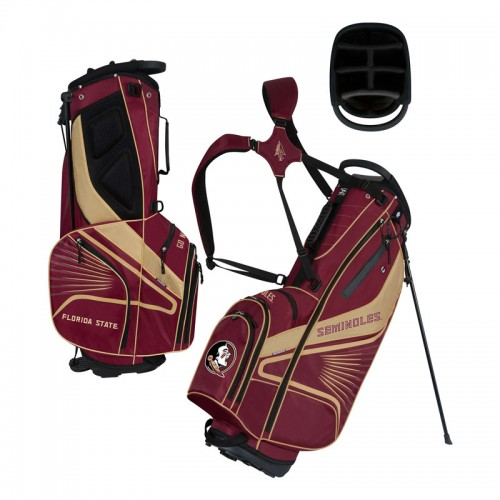 Florida State Seminoles Gridiron Stand Golf Bag