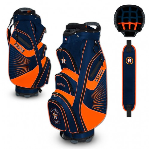 Houston Astros Bucket Cart Golf Bag