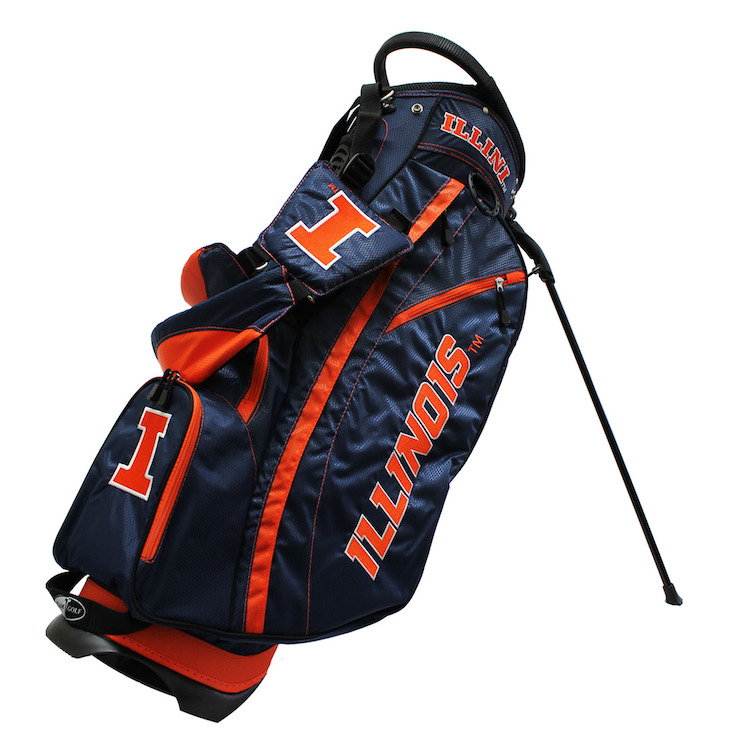 Illinois Fighting Illini Fairway Stand Golf Bag