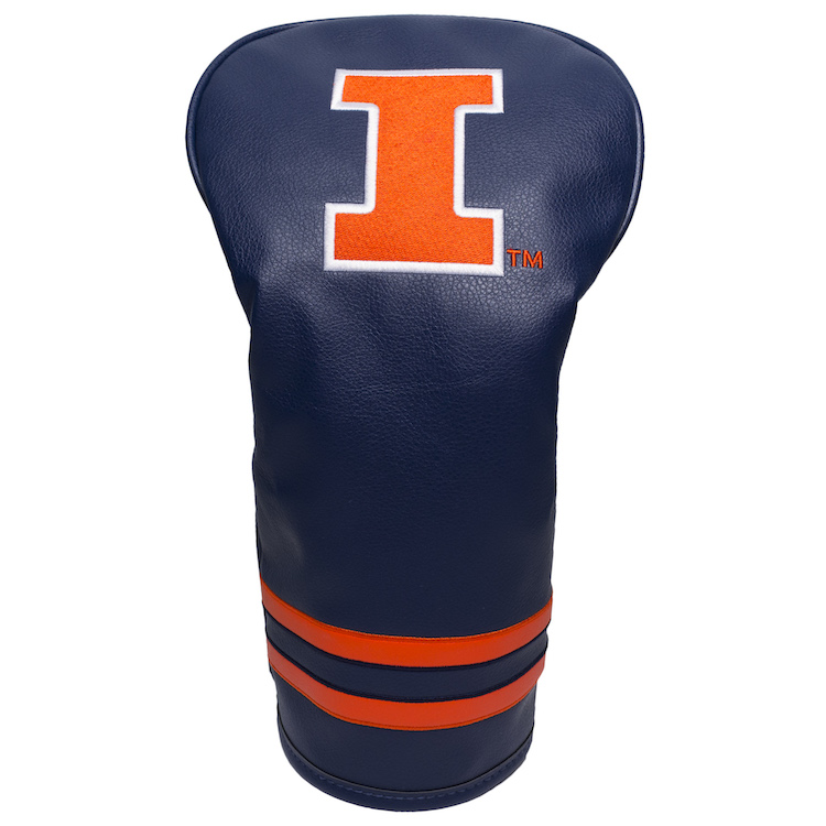 Illinois Fighting Illini Vintage Driver Head Cover