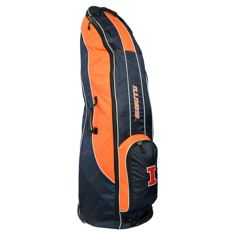 Illinois Fighting Illini Golf Travel Cover