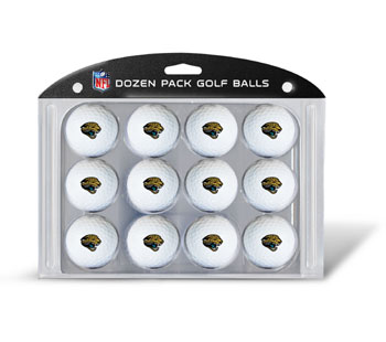 Jacksonville Jaguars Dozen Golf Ball Pack