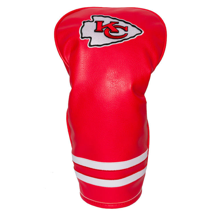 Kansas City Chiefs Vintage Driver Head Cover