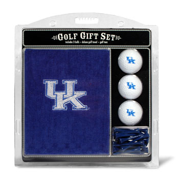 Kentucky Wildcats Embroidered Towel, Ball and Tee Gift Set