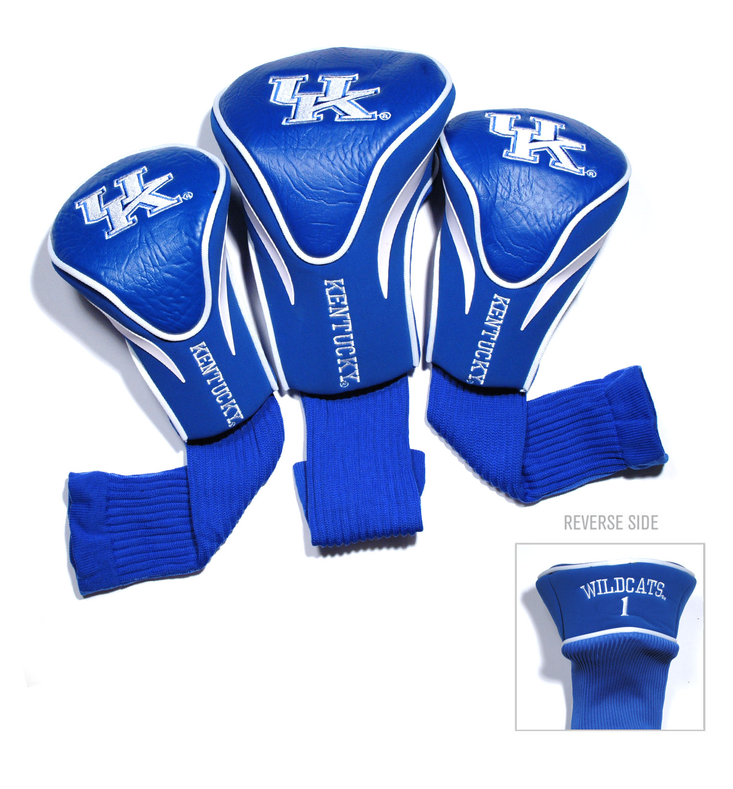 Kentucky Wildcats 3 Pk Golf Contour Sock Head Covers