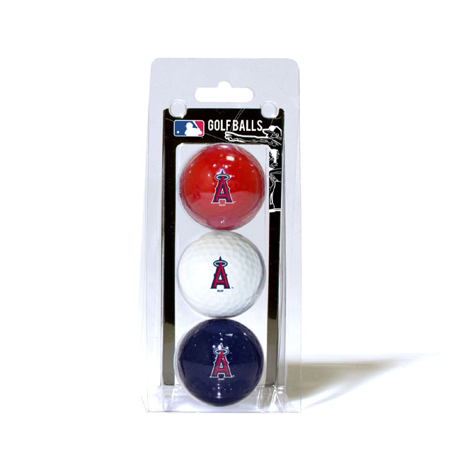 Los Angeles Angels 3 Golf Ball Pack