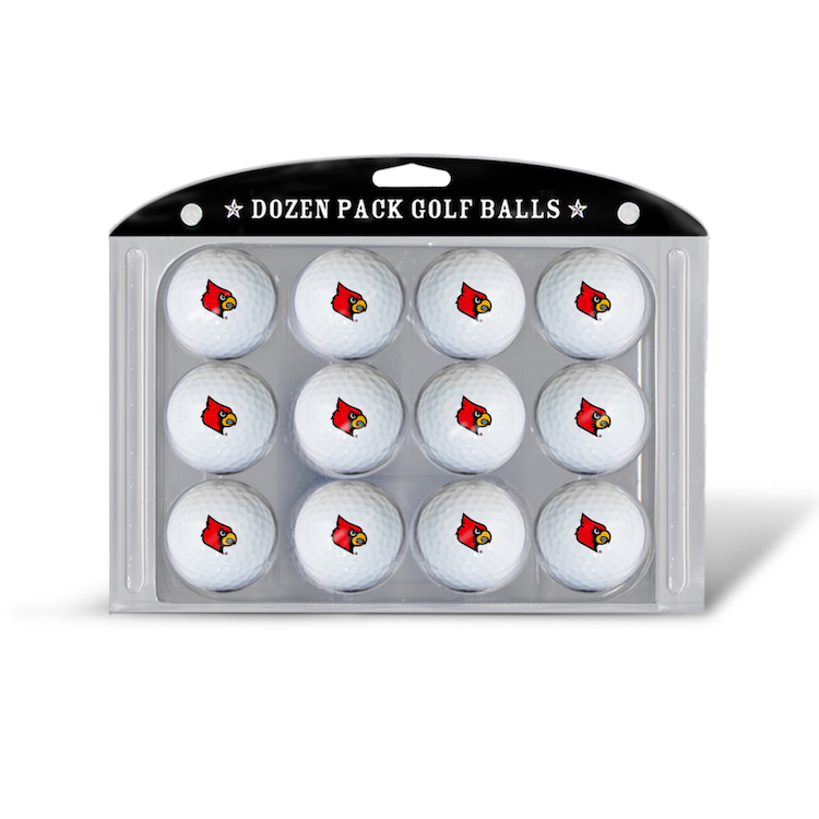 Louisville Cardinals Dozen Surlyn Golf Balls