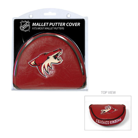 Arizona Coyotes Mallet Golf Putter Cover