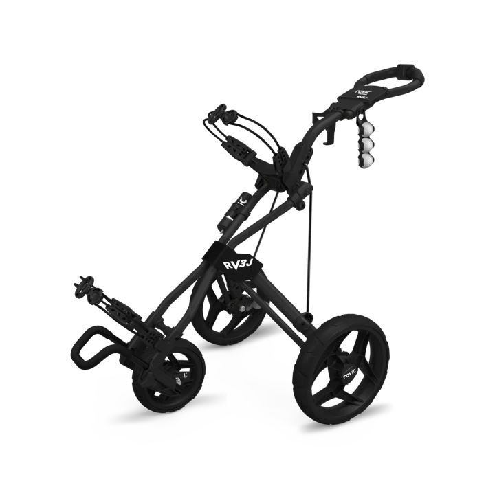 Junior Clicgear Rovic RV3J Black Golf Push Cart
