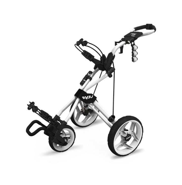 Junior Clicgear Rovic RV3J White Golf Push Cart