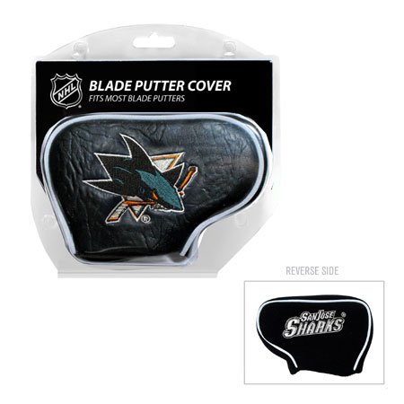 San Jose Sharks Blade Golf Putter Cover