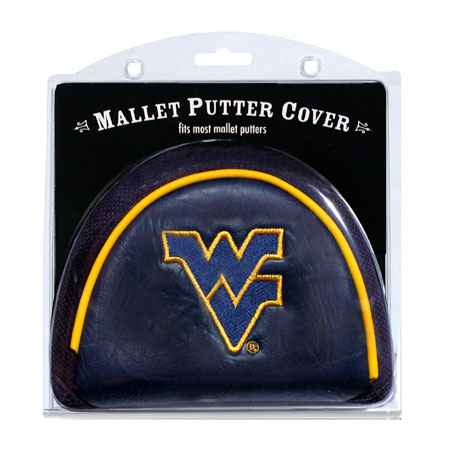 West Virginia Mountaineers Golf Mallet Putter Cover