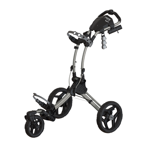 Rovic RV1S Golf Push Cart Silver